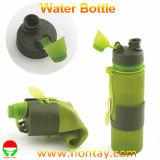 бутылка воды спортов силикона 500ml складная мягкая