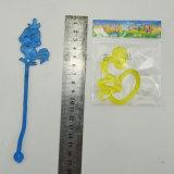 La plastica appiccicosa degli animali del yo-yo dei giocattoli elastici divertenti gioca i giocattoli
