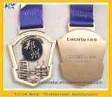 La medaglia su ordinazione per lo sport di maratona con la pressofusione, doppi lati