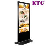 55 인치 LCD 디스플레이와 접촉 스크린의 매우 얇은 디지털 Signage