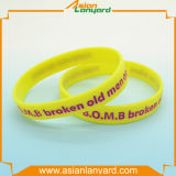 Abnehmer-Entwurfs-Gummisilikon-Armband