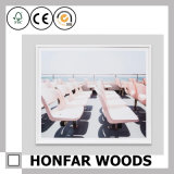 De noordse Zuivere Witte Houten Decoratie van het Frame van de Foto