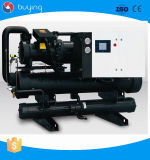 Água industrial unidade refrigerando de refrigeração do refrigerador do parafuso para galvanizar