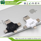4 en 1 iPhone/palillo androide del USB de /Type-C