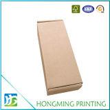 Het bruine Verpakkende Vakje van het Document van de Kaars van het Karton van Kraftpapier