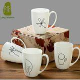 tazza della porcellana di disegno della bandierina di figura del richiamo di 11oz 350ml