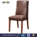 Античные древесина и стул Sbe-Cy0310 Rattant