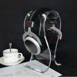아크릴 헤드폰 또는 헤드폰 또는 이어폰 진열대