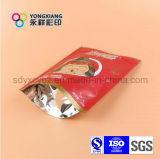 Stand up Aluminum Foil Snack Food Paquete de plástico con cremallera