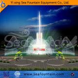 Vario tipo fuente del agua de la música de los multimedia con la fuente de la película de la pantalla de agua
