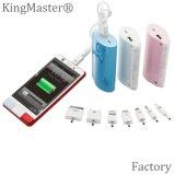 Chargeur portatif mobile du côté 4400mAh de pouvoir de seul modèle de Kingmaster mini
