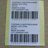 Impressora de papel autoadhesiva personalizada Etiqueta de etiqueta em branco Etiqueta de impressão