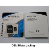 cartões do SD do cartão de memória de 100PCS MOQ 64MB 128MB 256MB 512MB 1GB 2GB 4GB 8GB Microsd TF micro