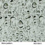 Película imprimible hidrográfica de la impresión de la transferencia del agua de Deisgn PVA de la gota del agua de Kingtop para la inmersión hidráulica con los 0.5m Wdf092-6 ancho