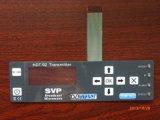 Dull polnischen flexiblen Membranschalter mit Metallabdeckung, Kleber 3m467/3m468