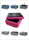 ファブリック記憶または茶表か皿またはオットマンまたは側面の表または子供の椅子