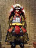 Vestito del Takeda Shingen dell'armatura del samurai