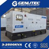 160kw con Perkins silencioso grupo electrógeno diesel generador diesel de 200 kVA (GPP200S)
