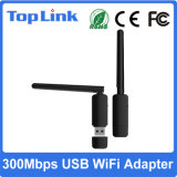 Ralink Rt5572 2.4G / 5g banda dual 300Mbps tarjeta de red inalámbrica USB con 2dBi antena externa