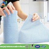 Pano de limpeza não tecido de Spunlace da absorção de água de Alemanha e da absorção de petróleo