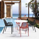 屋外のためのアームを搭載する現代アルミニウムレストランの椅子(SP-MC056)