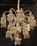самомоднейший большой декоративный стеклянный привесной светильник