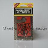 H-Qualitätshängendes Papierauto-Luft-Erfrischungsmittel mit langlebigem Duft