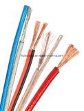 De Hete Kabels van uitstekende kwaliteit van de Spreker van de Verkoop 18AWG met de Vastgelopen Leider van het Koper