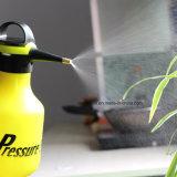 肥料、除草剤および殺虫剤の2liter園芸工具を振りかけるプラスチックポンプ圧力水まき缶の加圧スプレーヤーのびんのための1手圧力スプレーヤー