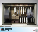 HPL Walk in Closet Bedroom Roupeiros com porta de vidro
