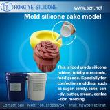Borracha de silicone de cura de platina para fabricação de moldes