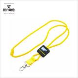 Lanière de cordon de corde tissée par jacquard rond de qualité