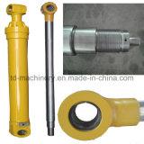 Cylindre hydraulique défonceur de bras d'E180 E200b E215 E215, pièces de rechange de boum de grue de tracteur à chenilles mobile hydraulique de Cylinde
