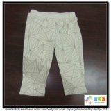 カスタムサイズの赤ん坊の摩耗の有機性綿の赤ん坊のズボン