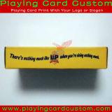 専門の印刷の火かき棒のカード
