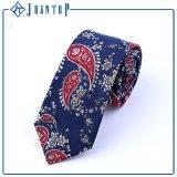 Projeto profissional para a gravata conservada em estoque do algodão