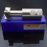 Cortador de trituração Indexable PT01.12W40.050.02 do lado e da face. H22/Tmp01-050-XP40-MP12-02 com inserção Mpht do carboneto