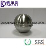 Bola del molde de la bomba del baño de la media esfera del acero inoxidable del hemisferio 3D de DIY 304