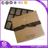 Chocolate de empacotamento da caixa de papel do projeto do retângulo para miúdos