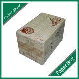 Caixa de cartão ondulado na venda