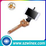 Mini teléfono móvil al por mayor Monopod Foldable Selfie Stick with Bluetooth