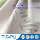 Tessuto di ticchettio del materasso del jacquard del tè dell'OEM dieci