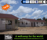 Mosambik-Projekt kundenspezifisches Fertighaus für Gebet-Raum