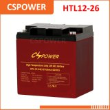 中国12V 26ahの長い生命再充電可能なゲル電池-電気手段