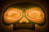 Маска зарева Halloween формы черепа