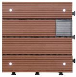 Carrelage de plancher en plein air de bricolage en énergie solaire DIY