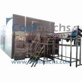IQF fließen Freezer/IQF Bett-Freezer/IQF verflüssigte schnelle Gefriermaschine-Maschine