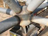 Griglia d'acciaio dello spazio strutturale d'acciaio utile per il parcheggio