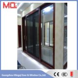Алюминиевая раздвижная дверь стекла рамки
