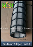 Filtro do cilindro do engranzamento de fio do aço inoxidável 304/filtro de engranzamento aglomerado do fio